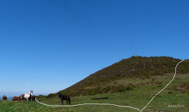 Sierra de Pesquerín - Asturias