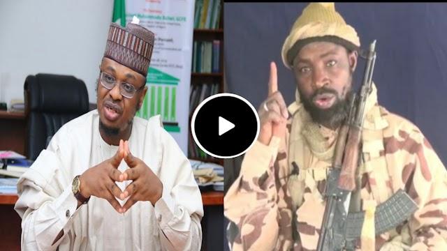 VIDEO : Abubakar Shekau boko haram ya yi barazanar kashe Sheikh Ali isa pantami da bulama Bukarti