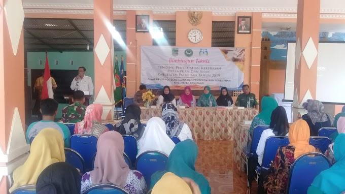 Babinsa Dampingi Bimbingan Teknis Pencegahan Kekerasan Perempuan Dan Anak