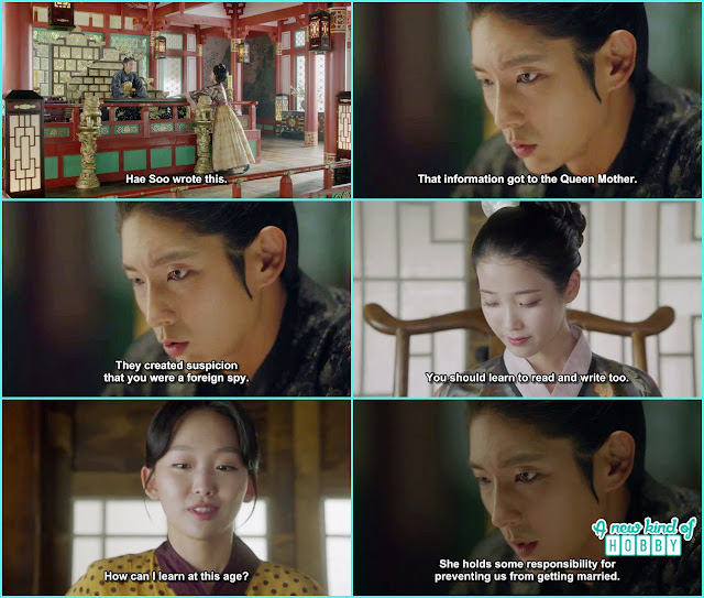 wang soo told hae soo she gave your things to the queen and the queen accuse you of being a foreign spy - Moon Lovers Scarlet Heart Ryeo - Episode 18 (Eng Sub)