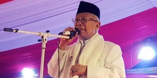FBR Ungkap Kekecewaan ke Sandi, Ma'ruf Amin: Betawi Pasti Dukung Jokowi