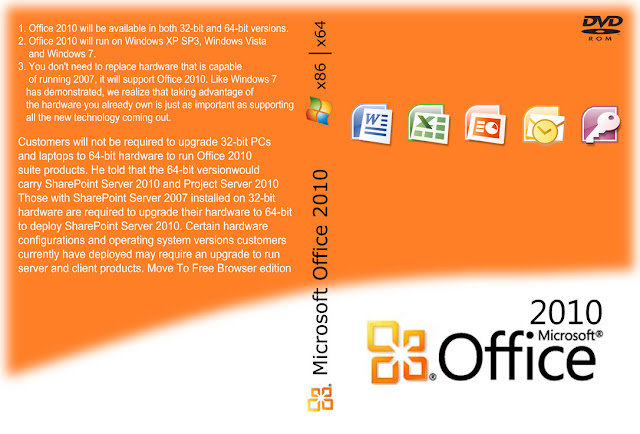 office 2010 professional 32/64 bit iso free download