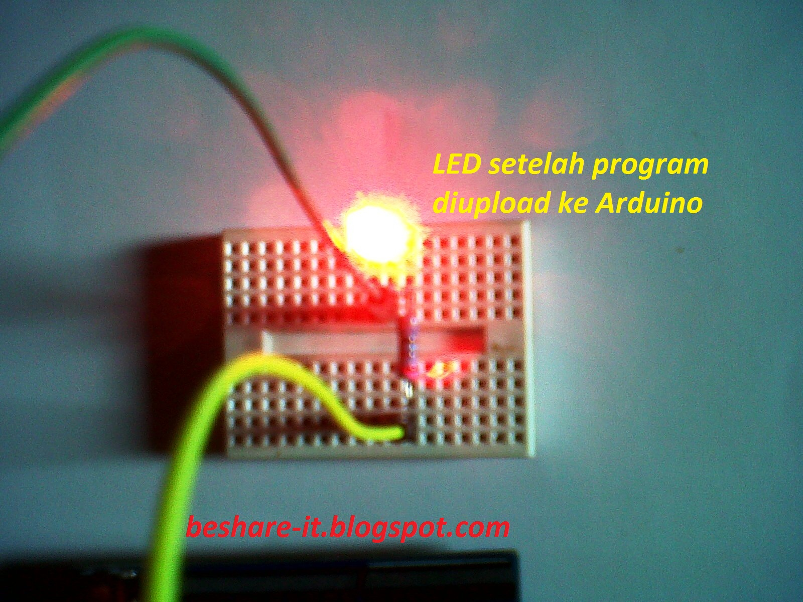 Belajar arduino uno led basic life for pray