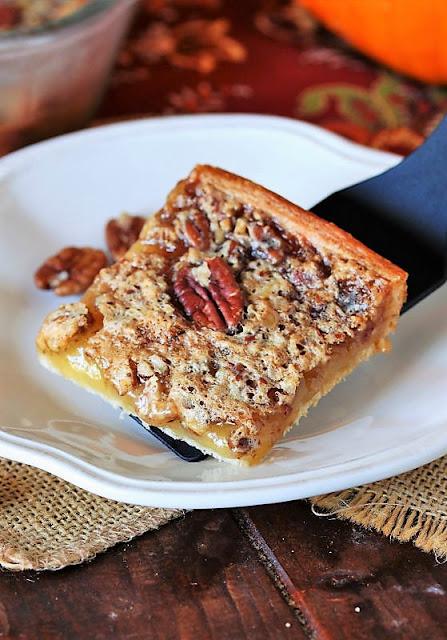 Crescent Pecan Pie Bars Image