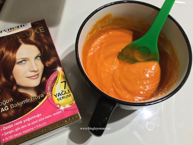 palette deluxe 6-70 kahve bakır saç boyası