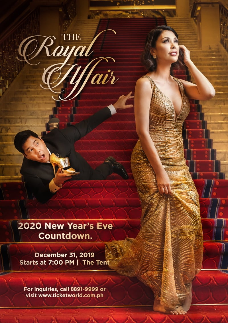 """The Royal Affair"" 2020 New Year's Eve Countdown at Solaire"