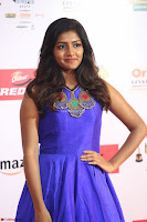 Eesha in Cute Blue Sleevelss Short Frock at Mirchi Music Awards South 2017 ~  Exclusive Celebrities Galleries 025.JPG