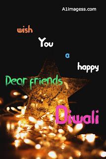 happy diwali wish for friends