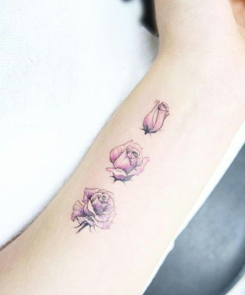 11 Floral Tattoos Are the Definition of Pretty
