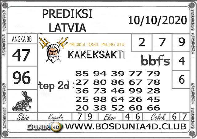 Prediksi Togel LATVIA DUNIA4D 10 OKTOBER 2020