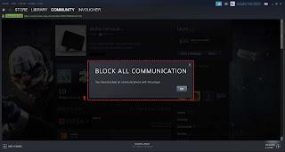 ✓ Cara memblokir Chat di Steam Windows