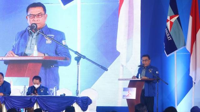 35 DPC Partai Demokrat Jateng Hadiri Rakorda, Menolak atau Dukung KLB?