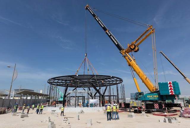 Falcon Aviation and Leonardo build rotorcraft terminal for Expo 2020