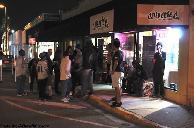 lake ivanhoe skateshop art show party