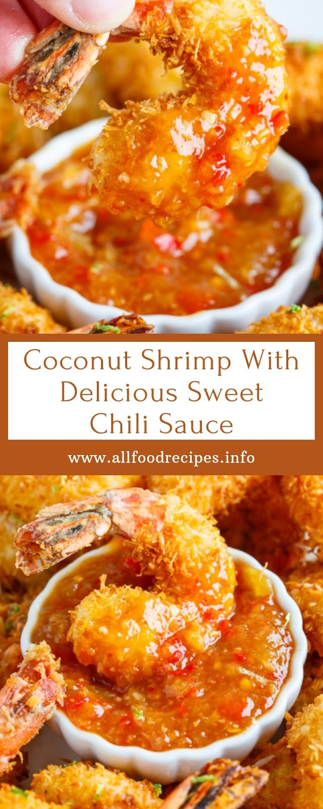 Coconut Shrimp With Delicious Sweet Chili Sauce