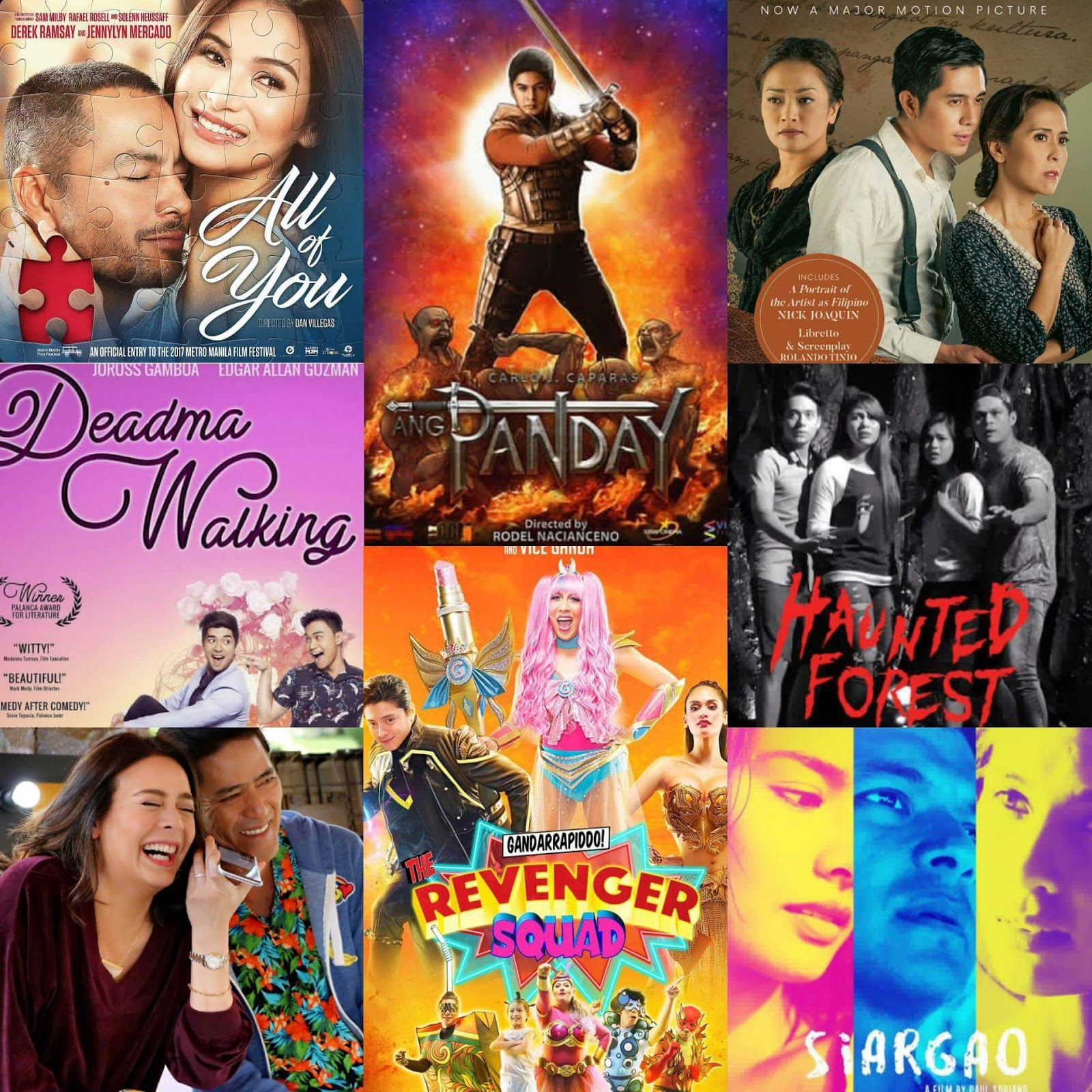 MMFF 2017 Official Entries