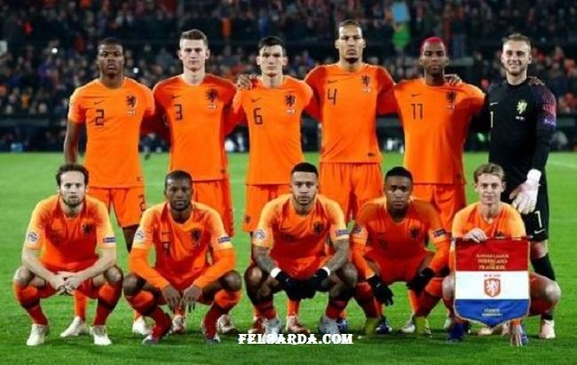 التشكيل الرسمي لمباراة هولندا ضد مقدونيا الشمالية  يورو 2020