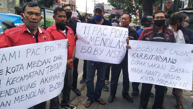Dipecat Gegara Tolak Menantu Jokowi, 4 Kader PDIP Korban Dinasti Politik?