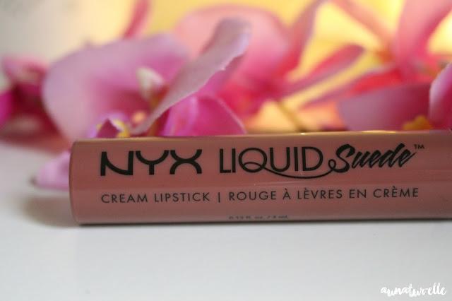 NYX liquid suede cream lipstick avis