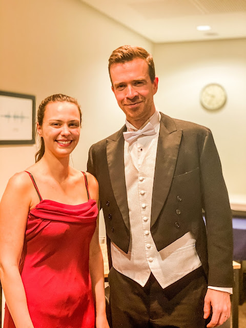 Violinist Alanna Tonetti-Tieppo and Cellist Daniel Hammersley, RNS orchestra, sage gateshead, hollywood heroes, mandy charlton