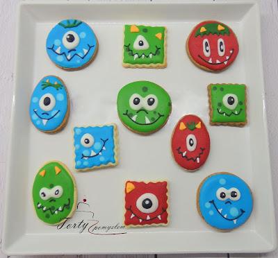 ciasteczka dla chłopczyka