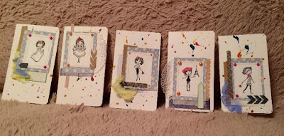 открытки, ручная работа, 8 марта, девочки, рисовать