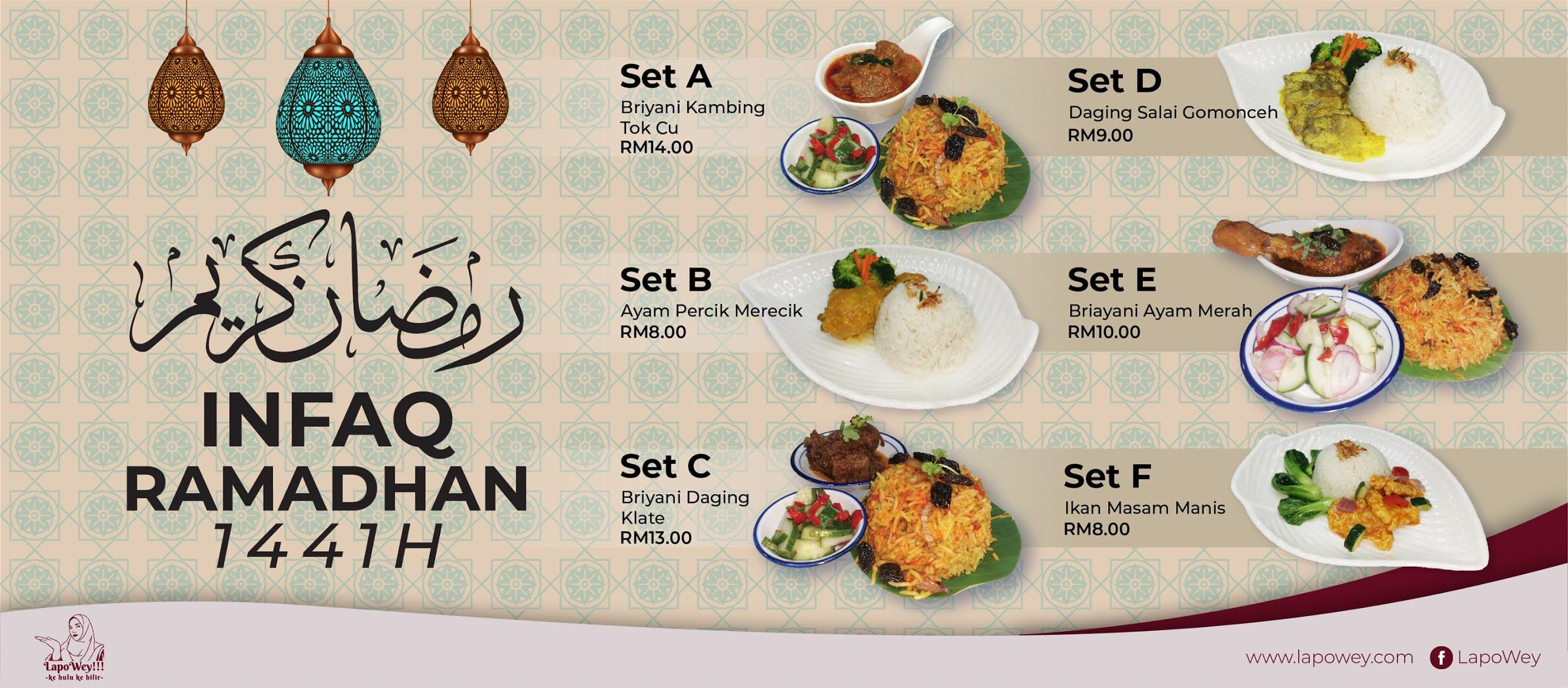 Nak Berinfaq Di Bulan Ramadhan? Lapowey Ada!