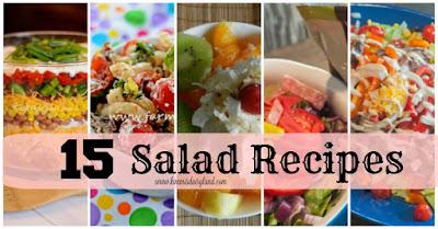Different types salads recipes - Food salad tech
