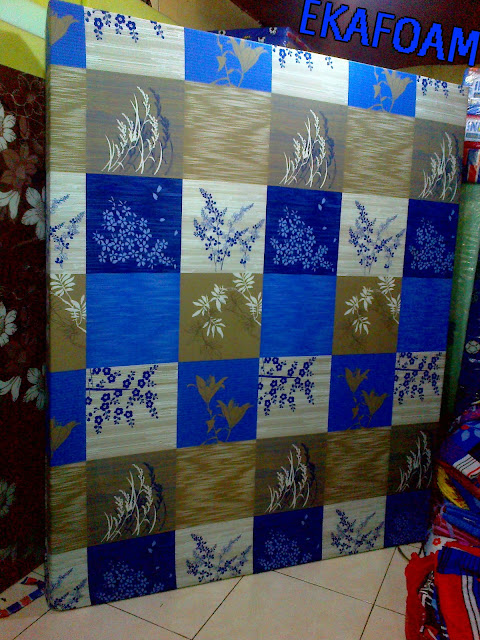 Kasur inoac terbaru 2016 motif padi biru