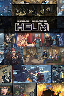 Helm - Web Comic