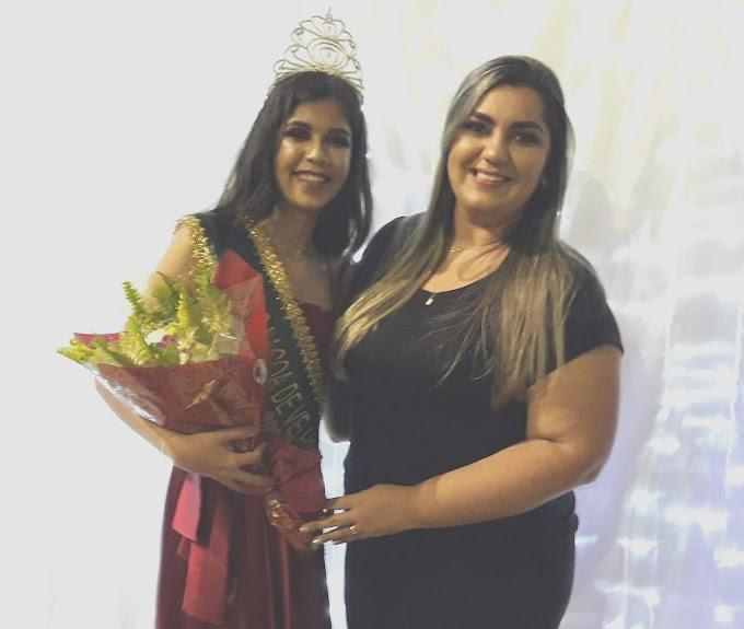 A Jovem Latutica Basílio, Foi Eleita Miss Lagoa de Velhos/RN 2019