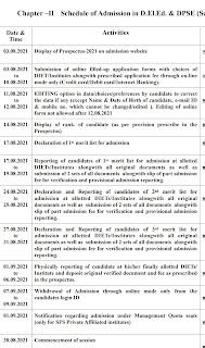 Delhi DELED Merit list 2021 release date