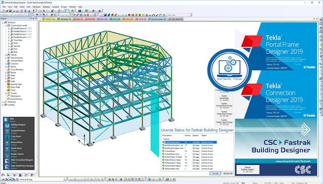 Trimble Tekla Portal Frame Connection Designer v2019