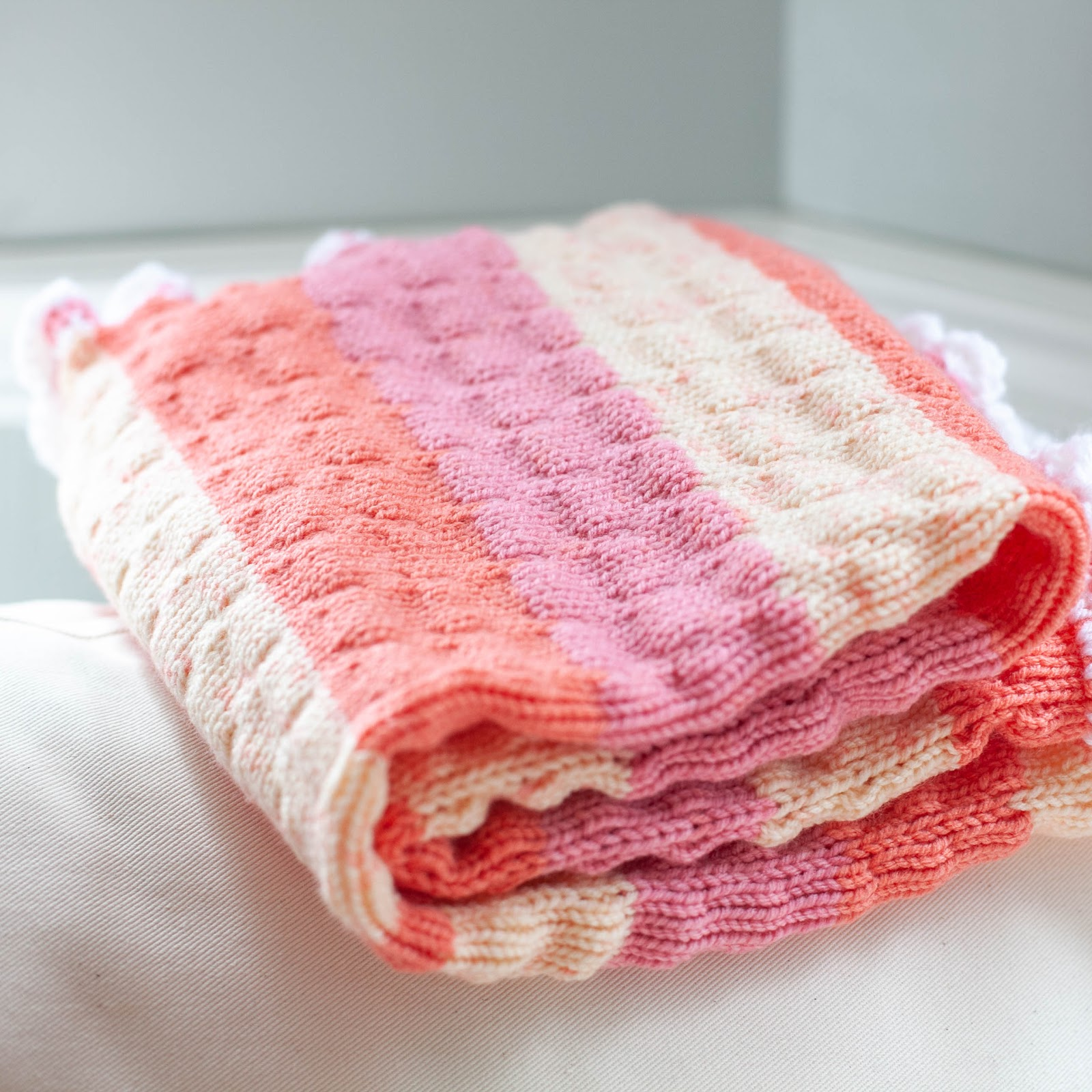 Loom Knit Baby Blanket Pattern, Just Published! | Loom ...