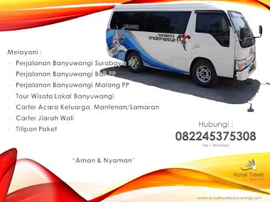 Travel Banyuwangi Surabaya Bali Malang PP Aman & Nyaman