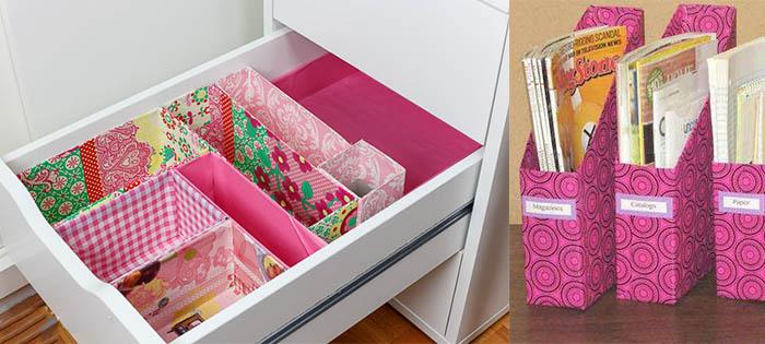 çekmece içi organizer örneği