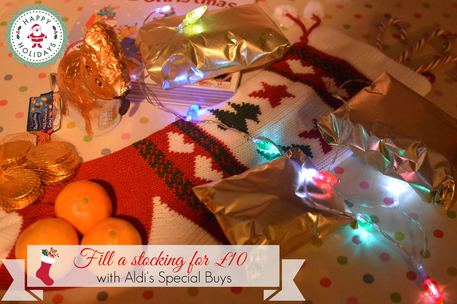 Christmas Stocking Filler £10 Aldi Special Buys