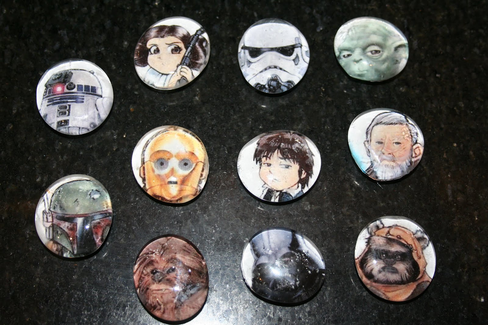 Confessions Of A Desperate Mom Star Wars Magnets