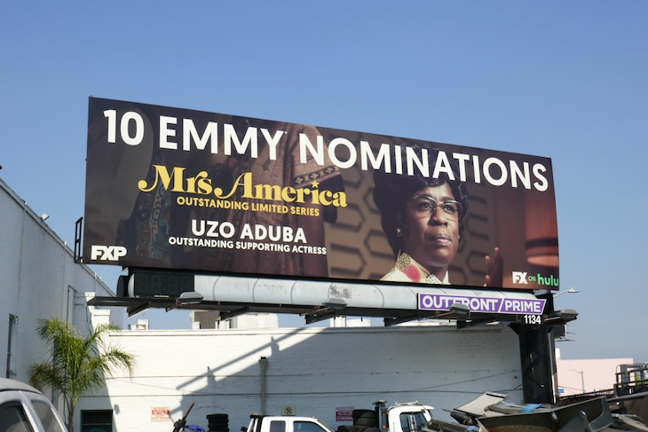 Uzo Aduba Mrs America Emmy nominee billboard