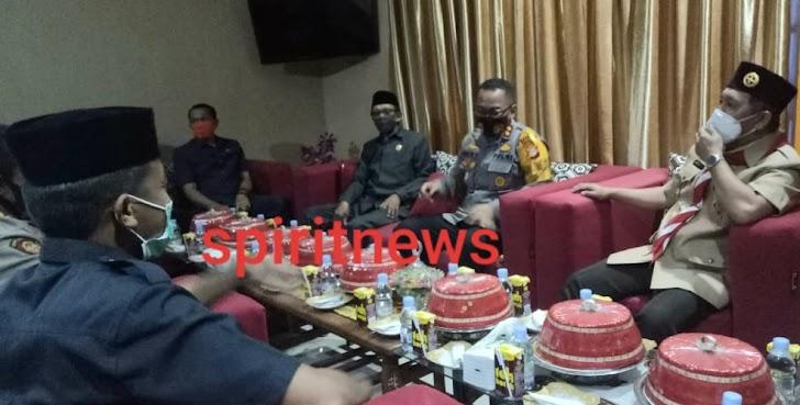 """Silaturahmi dengan DPRD, Kapolres Takalar """"Mohon Doa dan Dukungannya""""  Foto, Kapolres Takalar"""