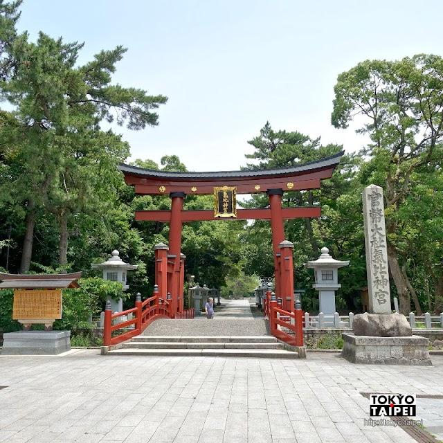 【氣比神宮】穿過大鳥居走入千年神宮 祈求長壽與戀愛運的能量景點
