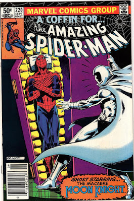 Amazing Spider-Man #220, Moon Knight