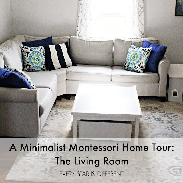 A Minimalist Montessori Home Tour: The Living Room