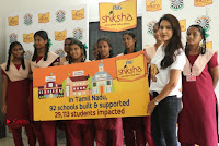 Actress Priya Anand with the Students of Shiksha Movement Event .COM 0019.jpg