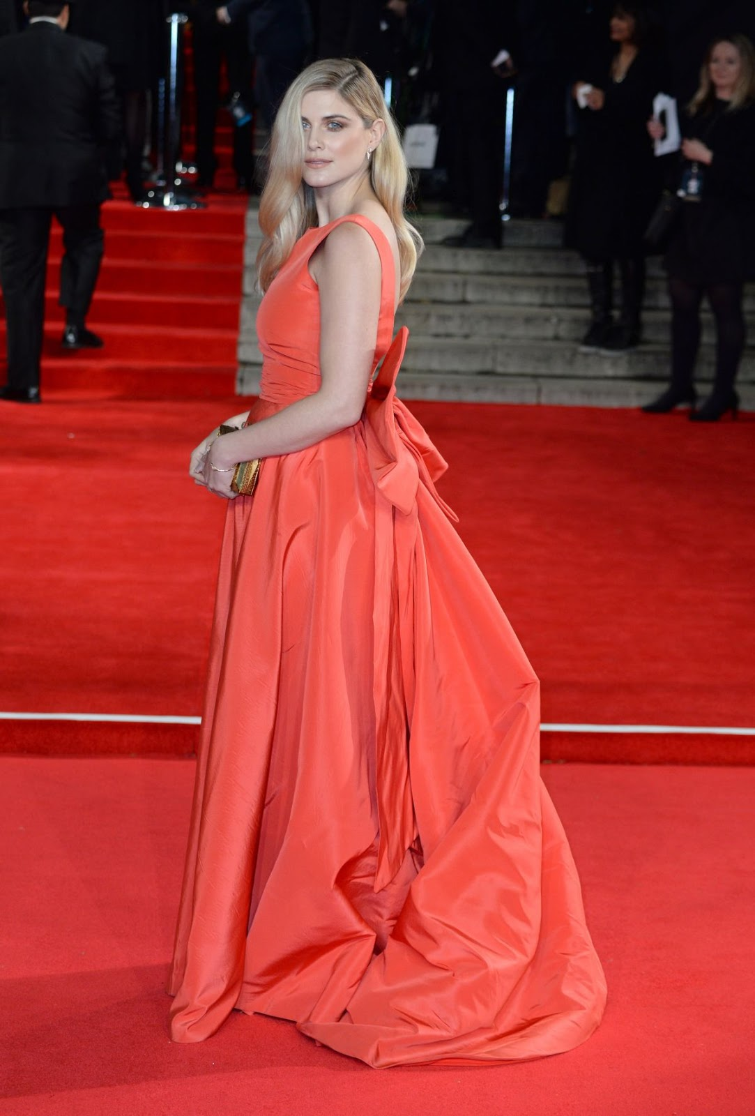 Full HQ Photos & Wallpapers of Made in Chelsea star Ashley James at Spectre Premiere in London