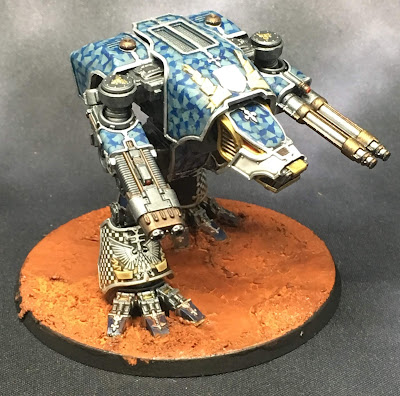 Legio Tempestus Warhound Titan for Adeptus Titanicus - Turbo Canis