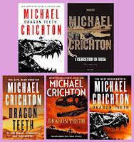 portada de la novela histórica de aventuras Dientes de dragón, de Michael Crichton