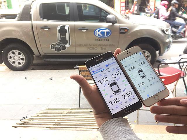 Cảm biến áp suất lốp Fobo Tire. Hotline: 0946578248. Công ty TNHH Thương Mại KATA Việt Nam
