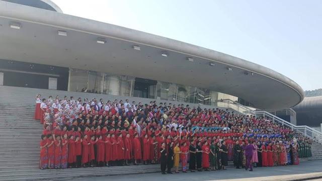 Hạ Long: Hơn 600 người Trung Quốc tụ tập, trình diễn trang phục áo dài trái phép