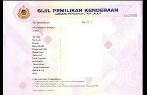JPJ ganti Geran Kenderaan dengan Sijil Pemilikan Kenderaan (VOC) Mulai 1 Jun 2016